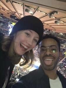 Will  attended New York Knicks vs. Oklahoma City Thunder - NBA on Mar 6th 2020 via VetTix