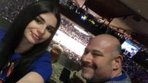 Howie attended New York Knicks vs. Oklahoma City Thunder - NBA on Mar 6th 2020 via VetTix
