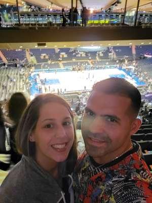 Diego attended New York Knicks vs. Detroit Pistons - NBA on Mar 8th 2020 via VetTix