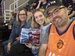 Jack Taylor attended Phoenix Suns vs. Milwaukee Bucks on Mar 8th 2020 via VetTix