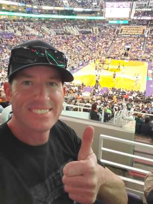 Chris  attended Phoenix Suns vs. Milwaukee Bucks on Mar 8th 2020 via VetTix