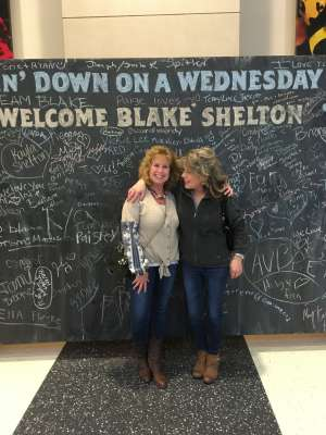 Debbie Perkins attended Blake Shelton: Friends and Heroes 2020 on Mar 11th 2020 via VetTix