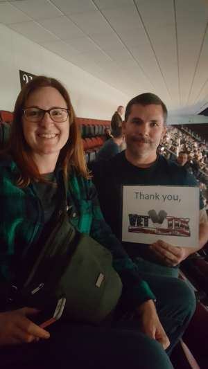 Jeremy attended Blake Shelton: Friends and Heroes 2020 on Mar 11th 2020 via VetTix