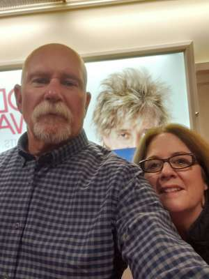 Stan attended Rod Stewart: the Hits. on Mar 14th 2020 via VetTix