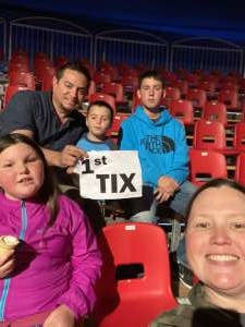 Jessica attended Circus Vargas on Mar 13th 2020 via VetTix