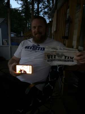 Sean attended Comedy's Best Kept Secret Tour 2020 - Virtual Comedy Show on May 15th 2020 via VetTix