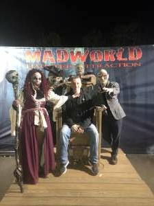Kenny Stratton attended MadWorld Haunted Attraction on Oct 10th 2020 via VetTix