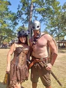 Willie attended Texas Renaissance Festival - 1001 Dreams on Oct 11th 2020 via VetTix