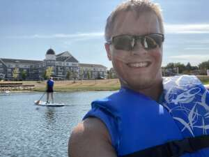Mark attended Flow and Paddle - Stand Up Paddle Board Class on Sep 5th 2020 via VetTix