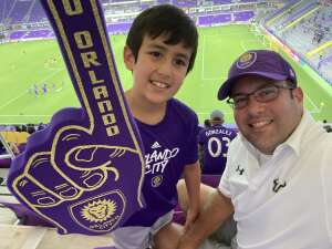 Jonathan R attended Orlando City SC vs. Atlanta United FC - MLS on Sep 5th 2020 via VetTix