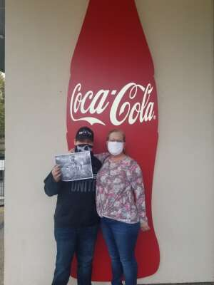 Vince attended World of Coca - Cola on Oct 3rd 2020 via VetTix