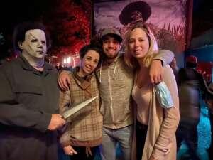 Kalyn attended Kersey Valley Spookywoods on Oct 2nd 2020 via VetTix