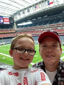 Joel Upton attended Houston Texans vs. Jacksonville Jaguars - NFL on Oct 11th 2020 via VetTix