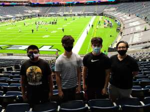 Christina  attended Houston Texans vs. Jacksonville Jaguars - NFL on Oct 11th 2020 via VetTix