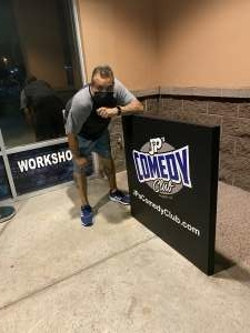 Robert Demaio attended JP'S Comedy Club on Oct 17th 2020 via VetTix