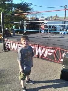 FMS attended Swf Wrestling Storm Surge on Nov 7th 2020 via VetTix