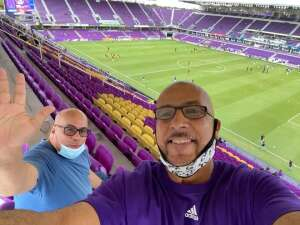 Jonathan attended Orlando City SC vs. Nashville SC - MLS on Nov 8th 2020 via VetTix