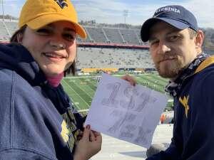 James Hope attended West Virginia University Mountaineers vs. TCU on Nov 14th 2020 via VetTix