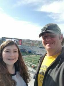 Jeremy attended West Virginia University Mountaineers vs. TCU on Nov 14th 2020 via VetTix