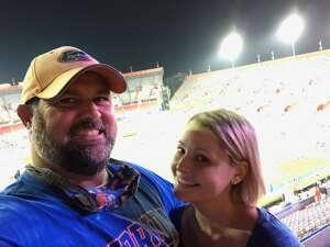Det.Sgt. Tom Larsen attended Florida Gators vs. Arkansas Razorbacks - Salute Those Who Serve Game - NCAA - Football on Nov 14th 2020 via VetTix