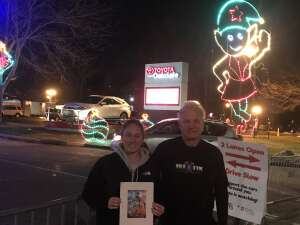 Noah attended Magic of Lights: Drive-through Holiday Lights Experience on Nov 13th 2020 via VetTix