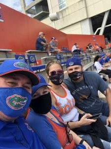 Brian attended University of Florida Gators vs. University of Kentucky Wildcats - NCAA Football on Nov 28th 2020 via VetTix