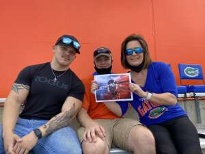 John attended University of Florida Gators vs. University of Kentucky Wildcats - NCAA Football on Nov 28th 2020 via VetTix