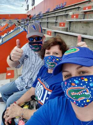Stevee G attended University of Florida Gators vs. University of Kentucky Wildcats - NCAA Football on Nov 28th 2020 via VetTix