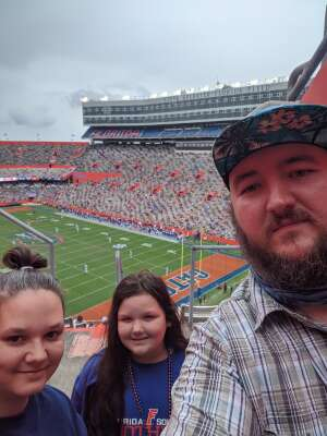 James attended University of Florida Gators vs. University of Kentucky Wildcats - NCAA Football on Nov 28th 2020 via VetTix