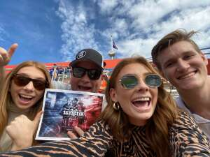 Cam attended University of Florida Gators vs. University of Kentucky Wildcats - NCAA Football on Nov 28th 2020 via VetTix