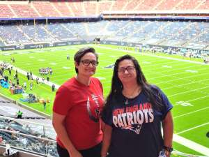 Christina  attended Houston Texans vs. New England Patriots - NFL on Nov 22nd 2020 via VetTix