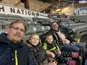 Dallas Johnson attended Rapid City Rush vs Utah Grizzlies - ECHL on Dec 12th 2020 via VetTix