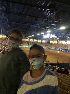 Vanessa  attended Ram National Circuit Finals Rodeo - Military Appreciation Night on Apr 9th 2021 via VetTix