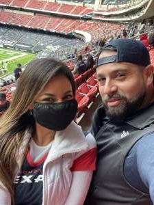 JRO attended Houston Texans vs. Cincinnati Bengals - NFL on Dec 27th 2020 via VetTix