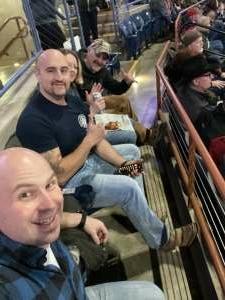 McCreary attended Rapid City Rush vs Allen Americans - ECHL on Jan 9th 2021 via VetTix