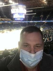 Kerry attended Tulsa Oilers vs Utah Grizzlies - ECHL on Jan 8th 2021 via VetTix