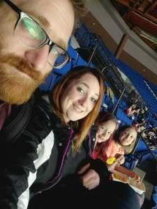 Brandi Lewis attended Tulsa Oilers vs Utah Grizzlies - ECHL on Jan 10th 2021 via VetTix