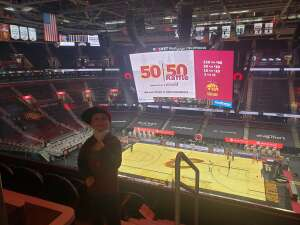 Scott attended Cleveland Cavaliers vs. Utah Jazz - NBA on Jan 12th 2021 via VetTix