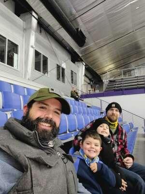 Kyle Golden attended Lone Star Brahmas vs. Shreveport Mudbugs - NAHL on Jan 22nd 2021 via VetTix