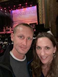 Justin  attended Sister Hazel on Jan 16th 2021 via VetTix