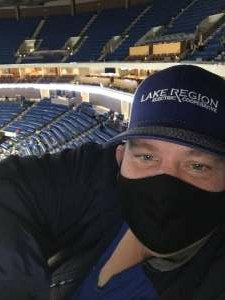 Kim attended Tulsa Oilers vs Kansas City Mavericks - ECHL on Jan 28th 2021 via VetTix
