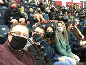First timers attended Florida Everblades vs. South Carolina Stingrays - ECHL on Jan 30th 2021 via VetTix