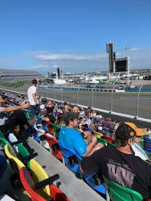 Jeff S attended NASCAR Cup Series - Daytona Road Course on Feb 21st 2021 via VetTix