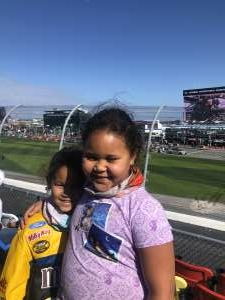 Vanessa  attended NASCAR Cup Series - Daytona Road Course on Feb 21st 2021 via VetTix