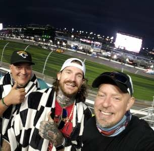 James attended NASCAR Cup Series - Daytona Road Course on Feb 21st 2021 via VetTix