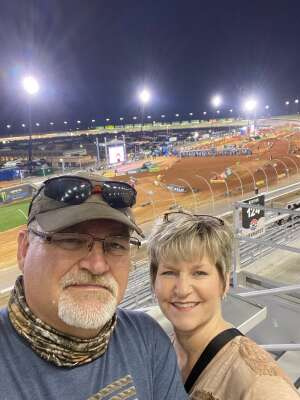 Eddie R. attended Monster Energy Supercross on Apr 13th 2021 via VetTix