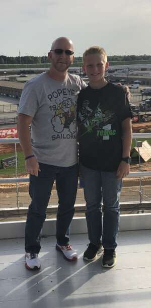Mark attended Monster Energy Supercross on Apr 13th 2021 via VetTix