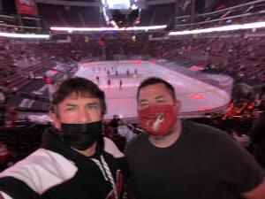 Richard  attended Arizona Coyotes vs. Anaheim Ducks on Feb 22nd 2021 via VetTix