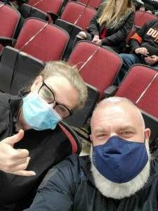 Mick attended Arizona Coyotes vs. Anaheim Ducks on Feb 22nd 2021 via VetTix