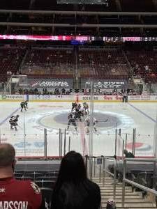 Steven W attended Arizona Coyotes vs. Anaheim Ducks on Feb 24th 2021 via VetTix
